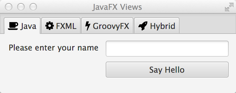 Tutorial 4::JavaFX Views